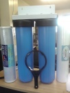 "Twin Big Blue BASICGRADE 20"" Whole House INC Filters!"
