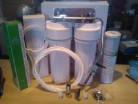 Complete Twin Undersink Inc. Filters!!!