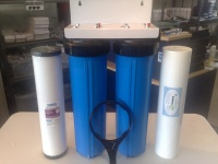 "Twin Big Blue HIGHGRADE  20"" Whole House INC FILTERS"